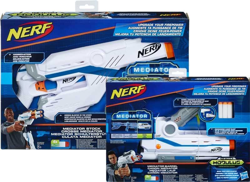 Wholesalers of Nerf Modulus Firepower Upgrade Asst toys