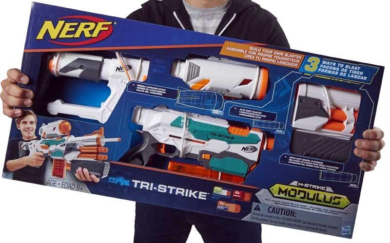 Wholesalers of Nerf Modulus Tri Strike toys