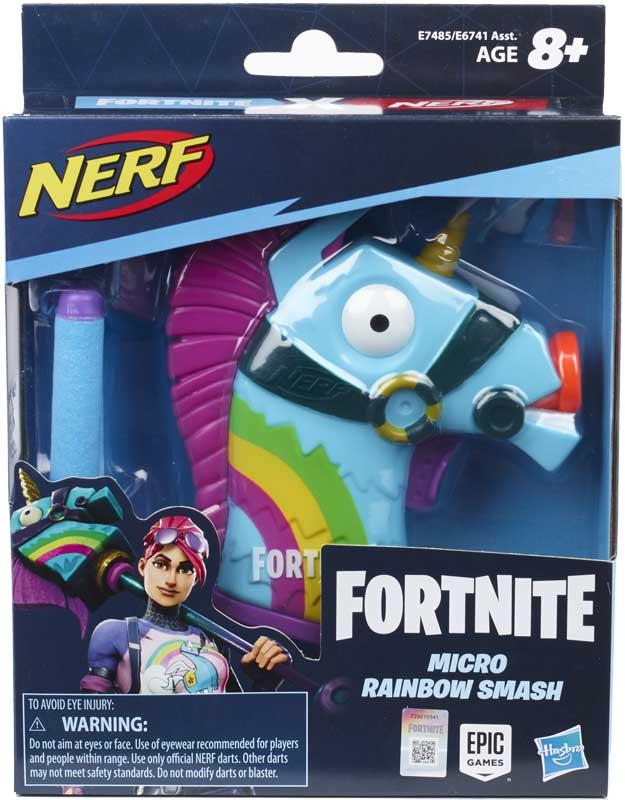 Wholesalers of Nerf Ms Fn Rainbow Smash toys