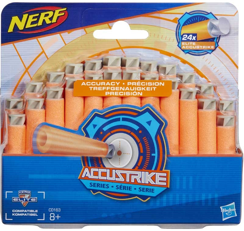 Wholesalers of Nerf N-strike Elite Accustrike 24 Dart Refill toys