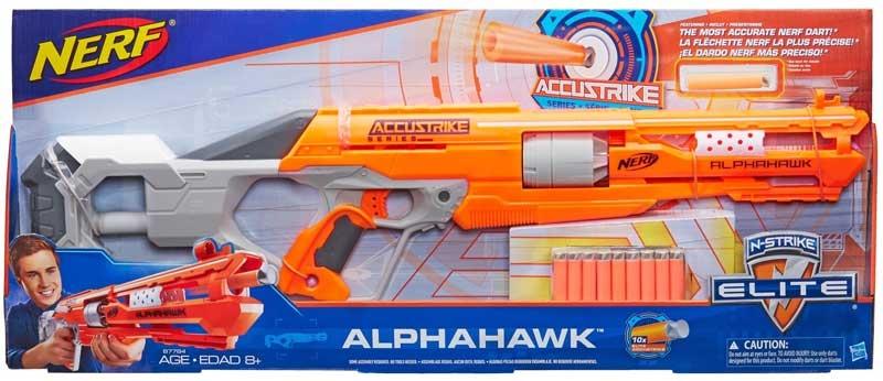 Wholesalers of Nerf N-strike Elite Accustrike Series Alphahawk toys