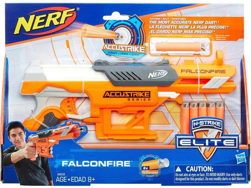 Wholesalers of Nerf N-strike Elite Accustrike Series Falconfire toys