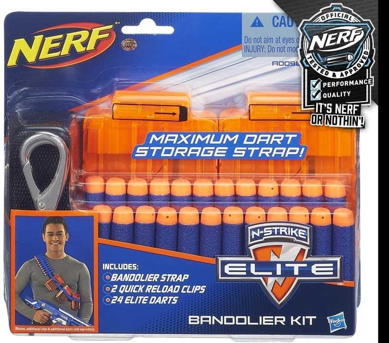 Wholesalers of Nerf N-strike Elite Bandolier Kit toys