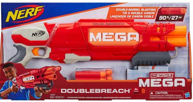 Wholesalers of Nerf N-strike Elite Doublebreach Blaster toys
