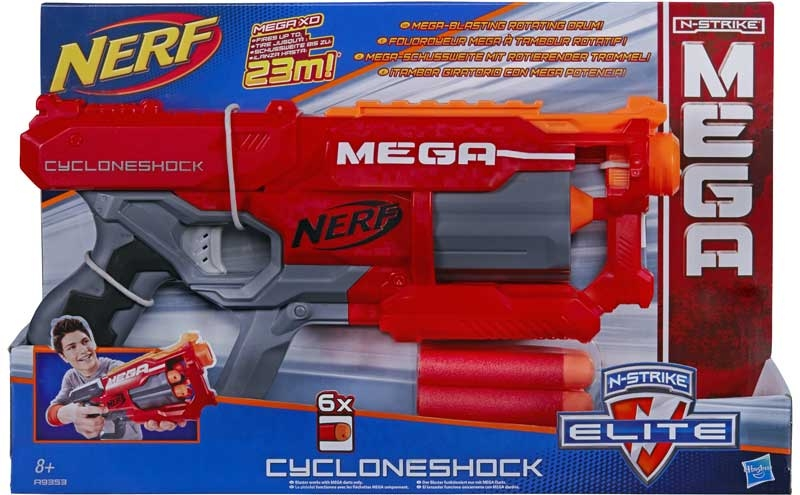 Wholesalers of Nerf N-strike Mega Cycloneshock toys