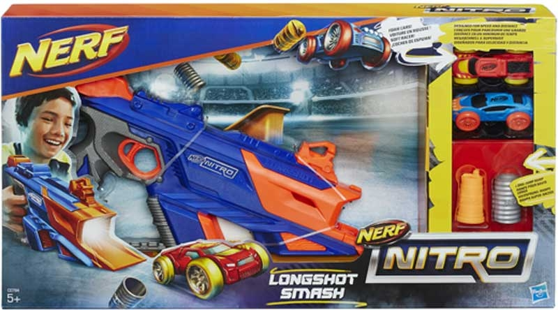 Wholesalers of Nerf Nitro Longshot Smash toys