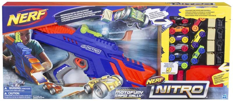 Wholesalers of Nerf Nitro Motofury Rapid Rally toys