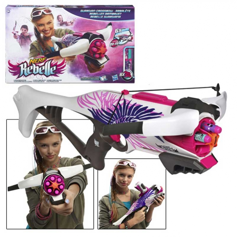 Wholesalers of Nerf Rebelle Guardian Crossbow toys