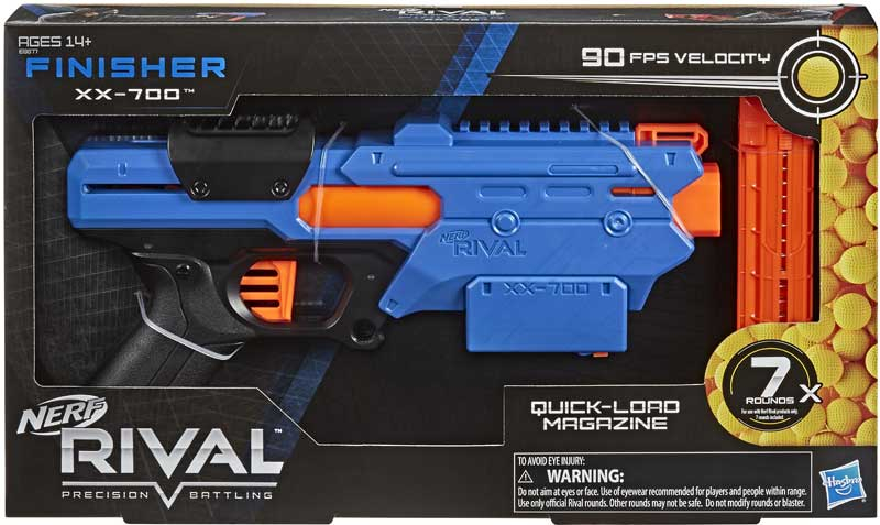 Wholesalers of Nerf Rival Finisher Xx 700 toys