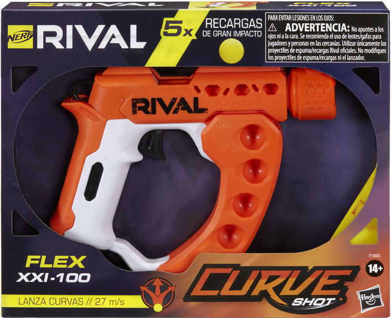 Wholesalers of Nerf Rival Flex Xxi 100 toys