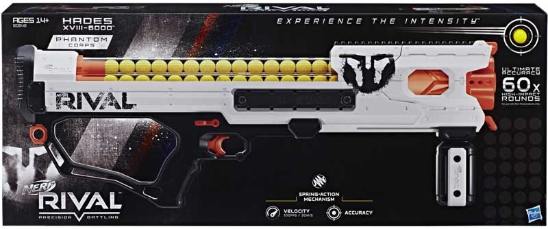 Wholesalers of Nerf Rival Hades Xviii 6000 toys