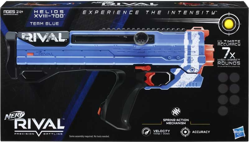 Wholesalers of Nerf Rival Helios Xviii 700 Ast toys