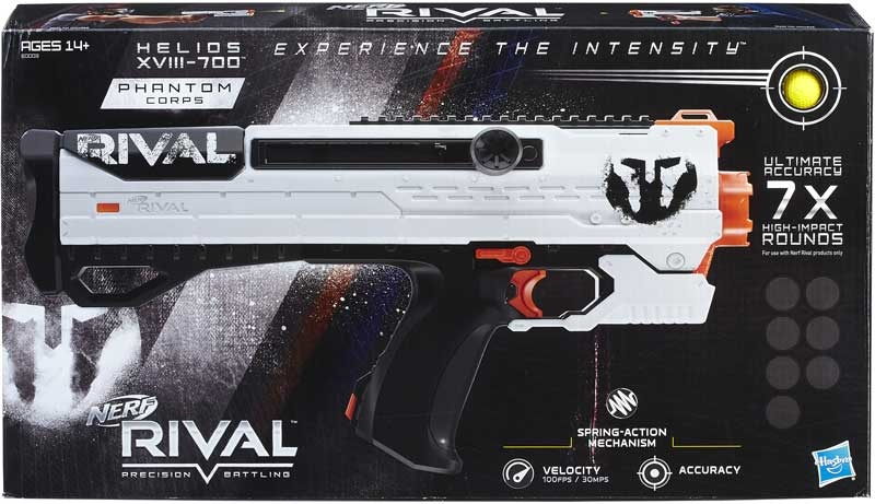 Wholesalers of Nerf Rival Helios Xviii 700 toys