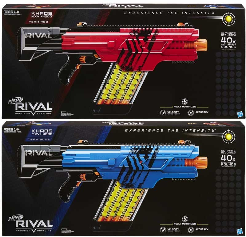 Wholesalers of Nerf Rival Khaos Mxvi-4000 Blaster Asst toys