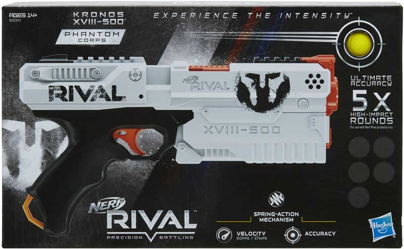 Wholesalers of Nerf Rival Kronos Xviii 500 toys