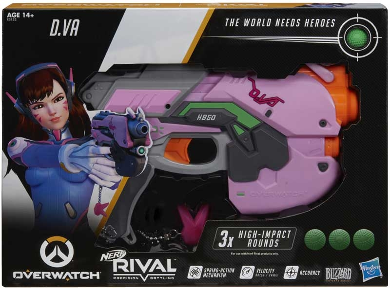 Wholesalers of Nerf Rival Overwatch Dva toys