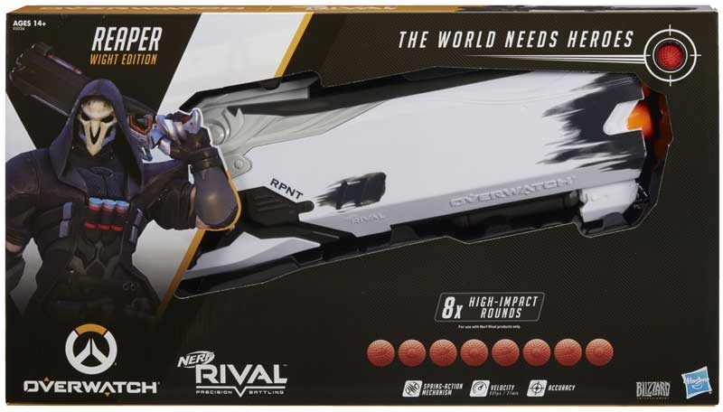 Wholesalers of Nerf Rival Overwatch Reaper Wight Edition Blaster toys