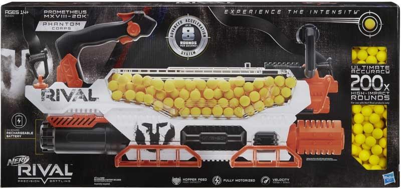 Wholesalers of Nerf Rival Prometheus Mxviii 20k toys