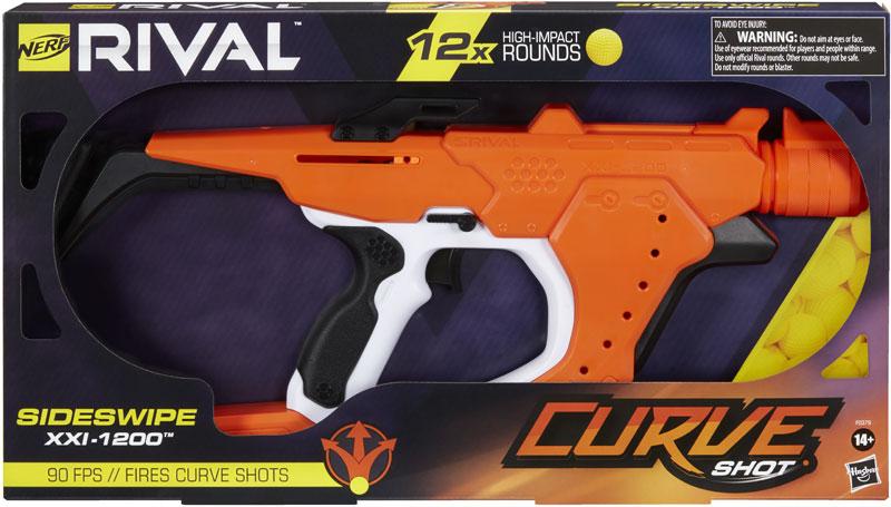 Wholesalers of Nerf Rival Sideswipe Xxi 1200 toys