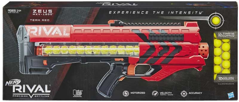 Wholesalers of Nerf Rival Zeus Mxv-1200 Blaster Red toys