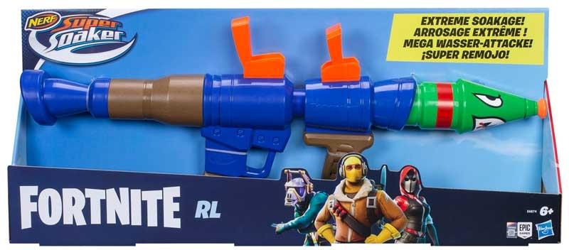 Wholesalers of Nerf Soaker Fortnite Rl toys