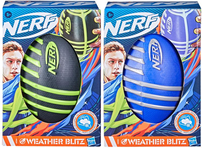Wholesalers of Nerf Sports Weather Blitz Footballs toys
