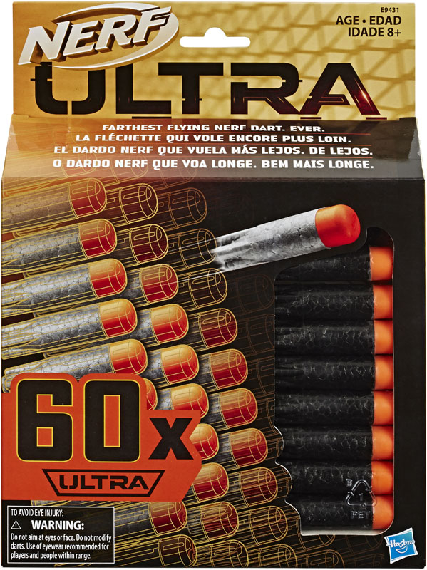 Wholesalers of Nerf Ultra 60 Dart Refill toys