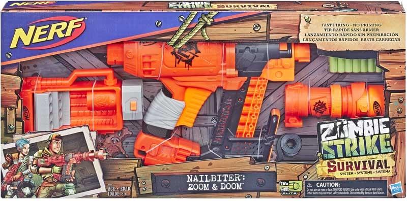 Wholesalers of Nerf Zombie Nailbiter Xl toys