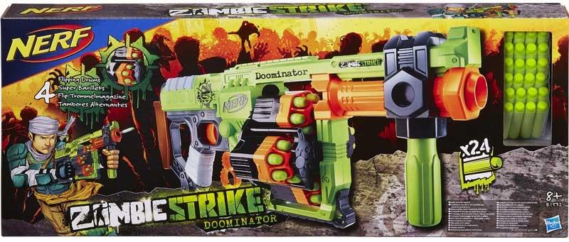Wholesalers of Nerf Zombie Strike Doominator toys
