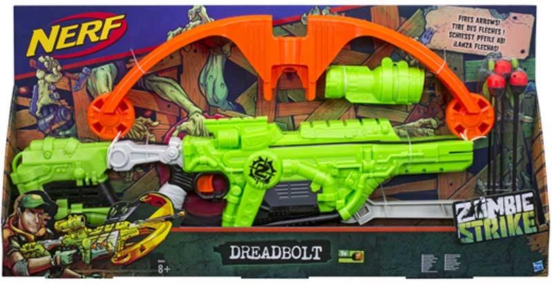 Wholesalers of Nerf Zombie Strike Dread Bolt toys