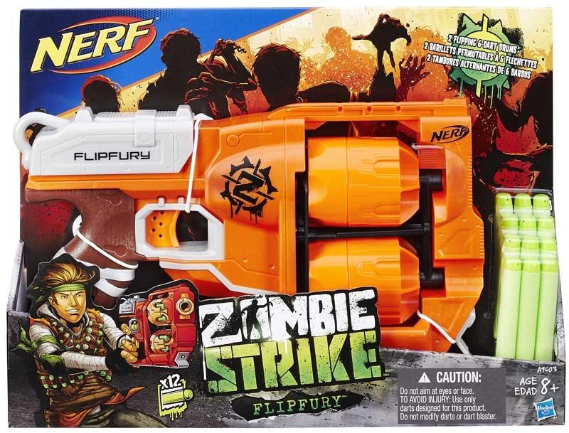 Wholesalers of Nerf Zombie Strike Flipfury toys