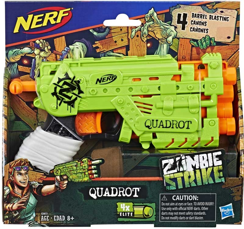 Wholesalers of Nerf Zombie Strike Quadrot toys