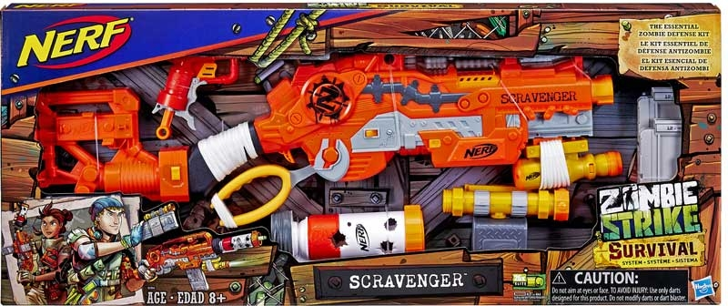 Wholesalers of Nerf Zombie Survival System Scravenger toys