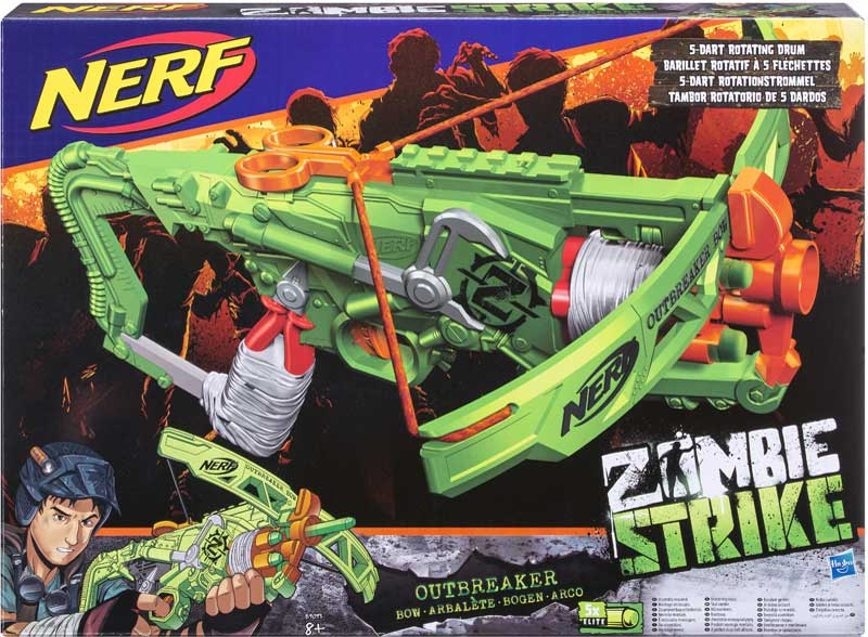 Wholesalers of Nerf Zombiestrike Outbreaker Bow toys