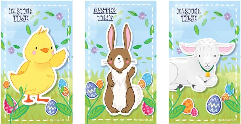 Wholesalers of Notebook Easter 9.3 X 5.5cm 3 Asst toys