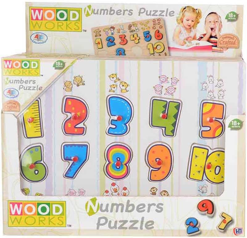 Wholesalers of Number Puzzle toys