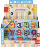 Wholesalers of Numbers Chunky Puzzle toys image 2