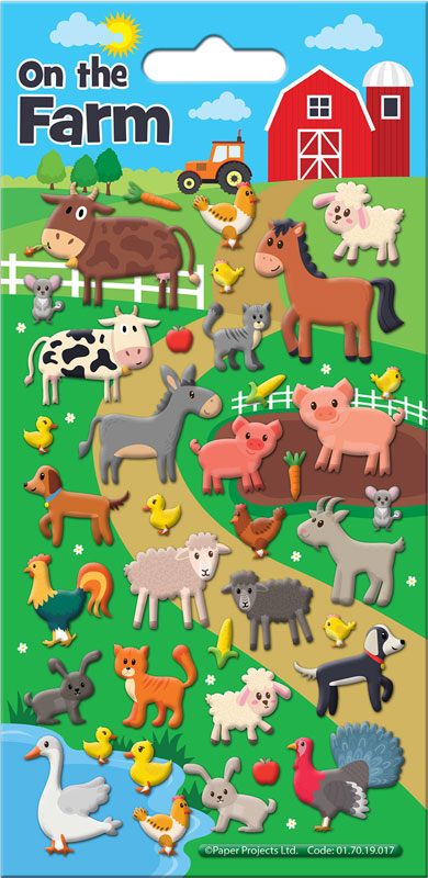 Wholesalers of On The Farm Stickers toys