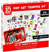 Wholesalers of One Direction Body Art Transfer Kit toys image