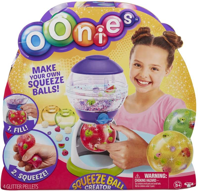 Wholesalers of Oonies Squeeze Ball Creator toys