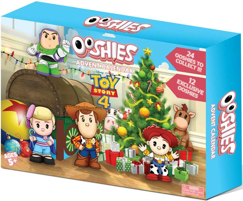 Wholesalers of Ooshies Toy Story 4 Advent Calendar toys