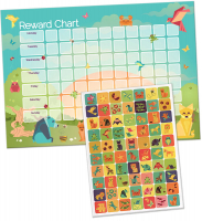 Wholesalers of Origami Friends Reward Chart And Stickers toys image 2