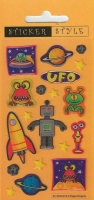 Wholesalers of Outer Space - Craft Stickers toys image