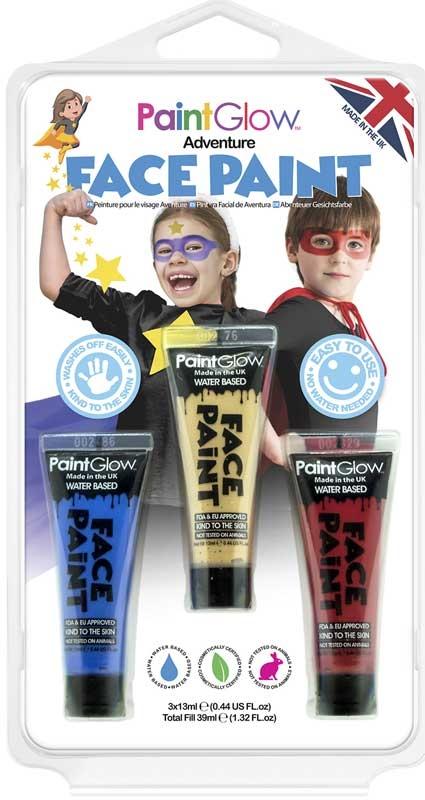 Wholesalers of Paint Glow Adventure Face  Paint toys