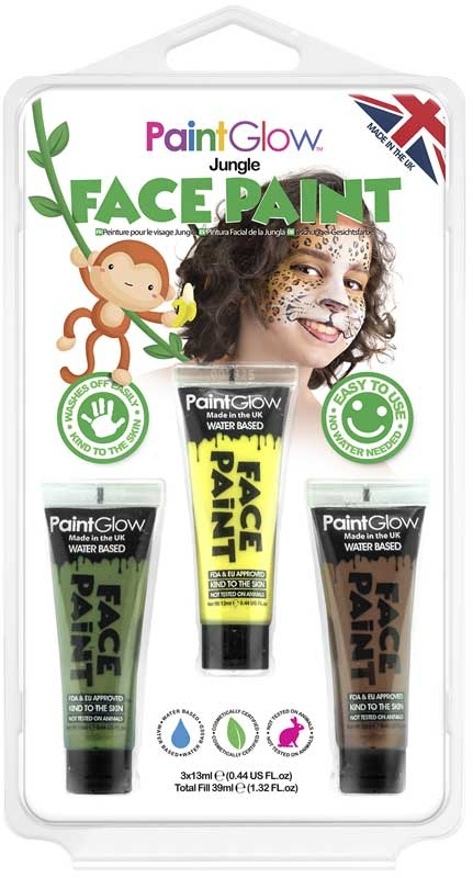 Wholesalers of Paint Glow Jungle Face Paint toys
