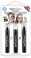 Wholesalers of Paint Glow Monochrome Face  Paint Stick toys image