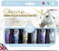 Wholesalers of Paint Glow Unicorn Glitter Face And Body Gel Kit toys image