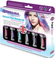 Wholesalers of Paint Glow Unicorn Hair Streaks Kit toys image