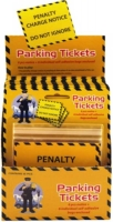 Wholesalers of Parking Ticket Fun 6 Pcs Per Card toys image