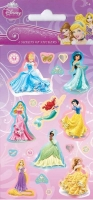 Wholesalers of Disney Princess 6 Sheet Party Stickers toys image